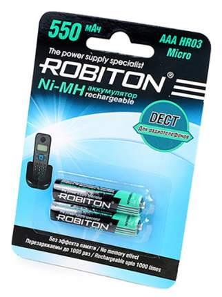 Аккумулятор Robiton 550MHAAA-2 550 мАч