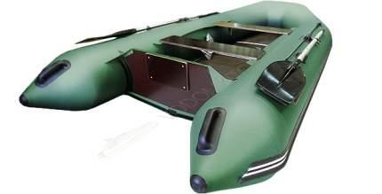 Лодка рыболовная Хантер 320 ЛК зеленая
