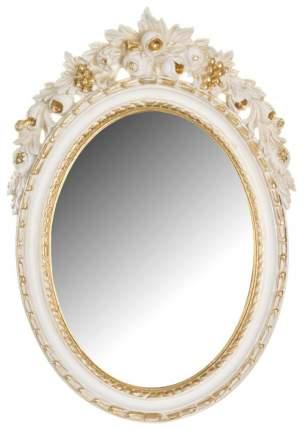 Зеркало настенное Euromarchi 290-038 34х50 см, золото/белое