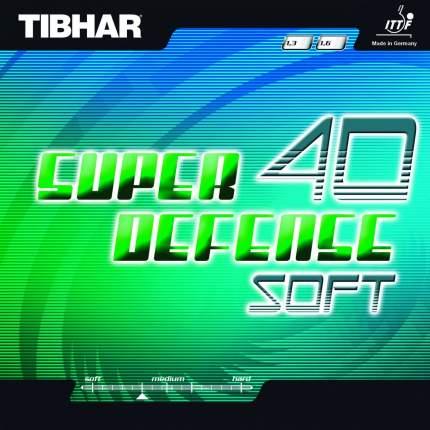 Накладка для ракетки Tibhar Super Defense 40 Soft черная 1.6