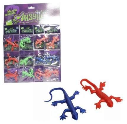 Лизун 1TOY Мелкие пакости ящерица-хамелеон 13см Т58971 в ассортименте