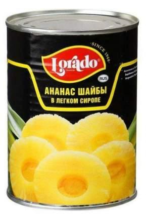 Ананасы  Лорадо в сиропе шайбы 0.58 л