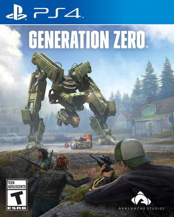 Игра для PlayStation 4 Generation Zero