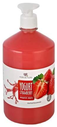 Жидкое мыло More de flore Йогурт клубника 1 л