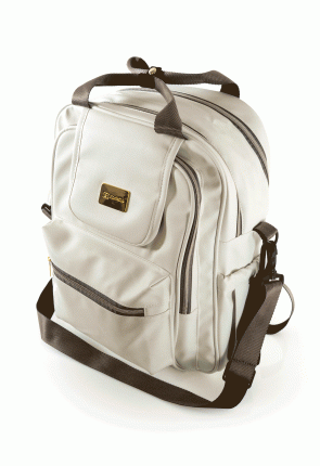 Рюкзак для мамы Farfello F4 белый арт.F4/1