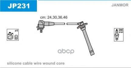 Комплект проводов зажигания JANMOR JP231