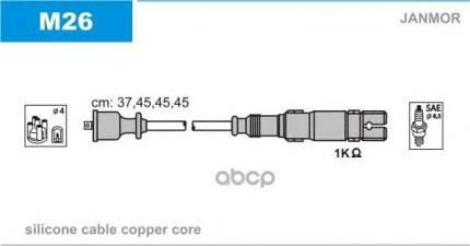 Комплект проводов зажигания JANMOR M26