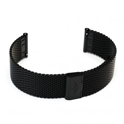Ремешок для смарт-часов Xiaomi Metal Mesh Strap для Xiaomi Amazfit Bip Black