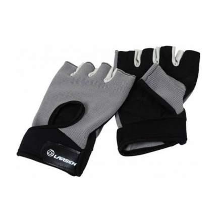 Перчатки для фитнеса Larsen 16-8344, серые/черные, L