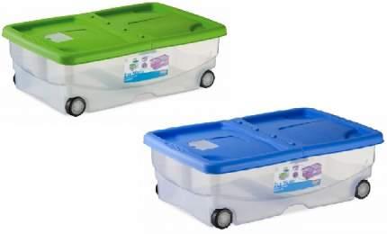 Контейнер для корма Stefanplast Mario на колесах, 60*40*18 см, 26 л