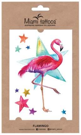 Переводные тату Miami Tattoos Flamingo