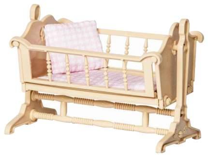 Мебель для кукол ОГОНЕК С-1295 Колыбель