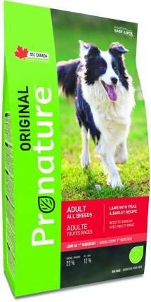 Сухой корм для собак Pronature Original Adult, ягненок, 11.3кг