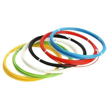 Набор пластика 3dmplast ABS для 3D ручек, 6 цветов по 10 метров