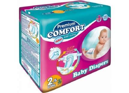 Подгузники для новорожденныхАММАPremium Comfort 0-6 кг,,24 шт,