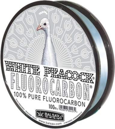 Леска монофильная Balsax White Peacock Fluorocarbon 100 м 0,14 мм