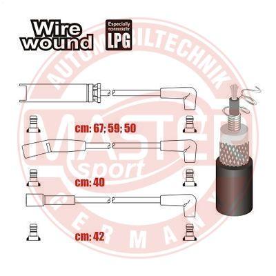 Комплект проводов зажигания MASTER-SPORT 834-ZW-LPG-SET-MS