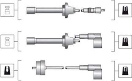 Комплект проводов зажигания MAGNETI MARELLI 941045250512