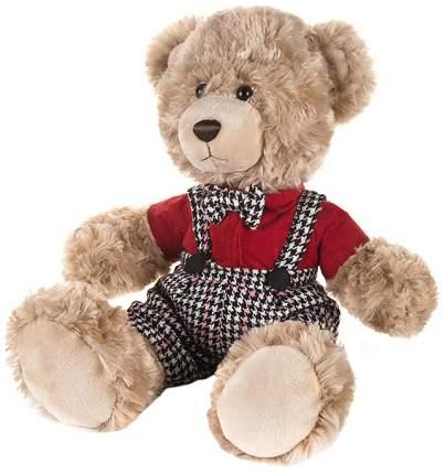 Мягкая игрушка Мишка Ричард в красной рубашке, 20 см