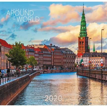 Календарь одноблочный 2020 Вокруг света.Копенгаген, КПКС2017
