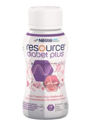 Смесь жидкая Resource Diabet Plus со вкусом клубники 200 мл