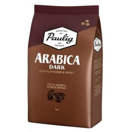 Кофе в зернах Paulig arabica dark 1000 г