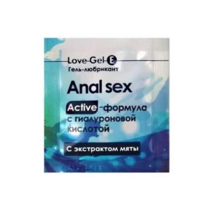 Гель-смазка Биоритм Lovegel E в одноразовой упаковке 4 г