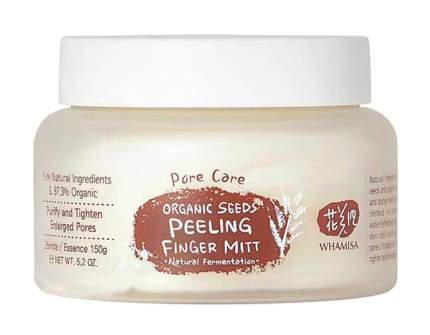 Пилинг для лица Whamisa Seeds Peeling Finger Mitt Pore Care 180 г
