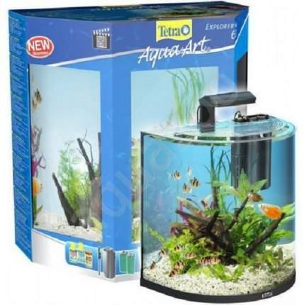 Аквариумный комплекс для рыб, креветок, ракообразных Tetra AquaArt Tropical, черный, 60 л