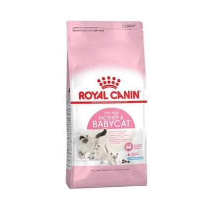 Сухой корм для котят и кормящих кошек ROYAL CANIN Mother&Babycat, домашняя птица, 0,4кг