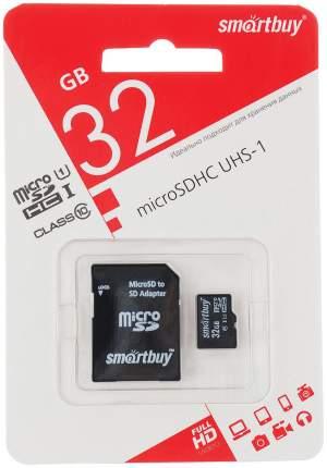 Карта памяти Smartbuy Micro SDHC 32GB