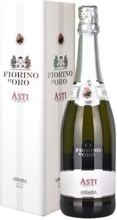 Игристое вино  Abbazia  Fiorino d'Oro Asti Spumante Dolce DOCG gift box