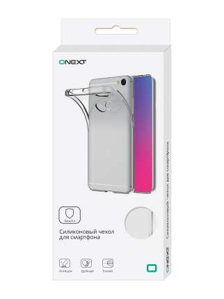 Чехол силиконовый Onext для телефона Apple iPhone 7 Plus/8 Plus Transparen