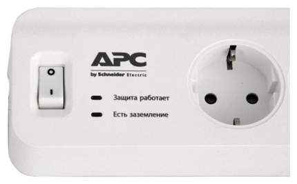 Сетевой фильтр APC PM5-RS, 5 розеток, 1,8 м, White
