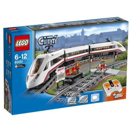 Конструктор LEGO City Trains Скоростной пассажирский поезд (60051)