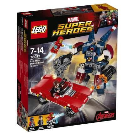 Конструктор LEGO Super Heroes Железный человек: Стальной Детройт наносит удар (76077)