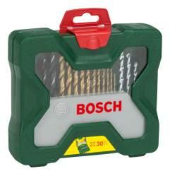 Наборы бит и сверл для дрелей, шуруповертов Bosch Titanium 30 2607019324