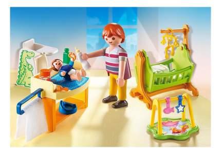 Кукольный дом: детская комната с люлькой