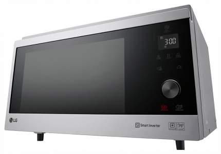 Микроволновая печь с грилем и конвекцией LG MJ3965AIS silver/black