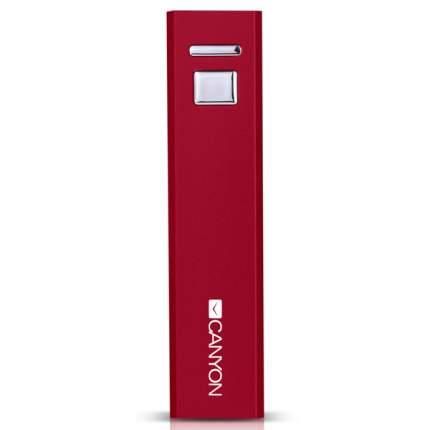 Внешний аккумулятор CANYON CNE-CSPB26R 2600 мА/ч Red
