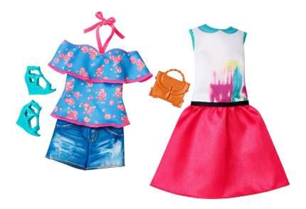 Кукла Barbie и набор одежды DTD96 DTF06