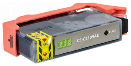 Картридж для струйного принтера Cactus CS-CZ109AE черный