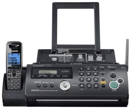 Факс Термо Panasonic KX-FC268RU черный
