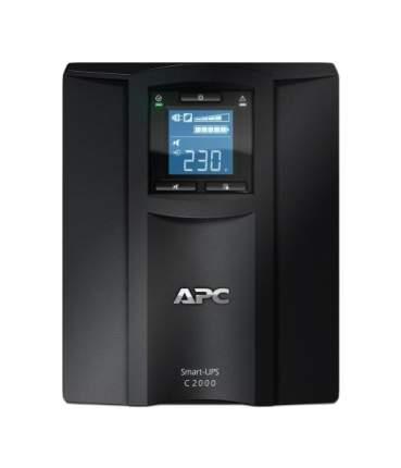 Источник бесперебойного питания APC Smart-UPS SC 2000VA SMC2000I Black