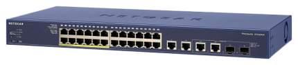 Коммутатор NetGear FS728TLP FS728TLP-100EUS Синий