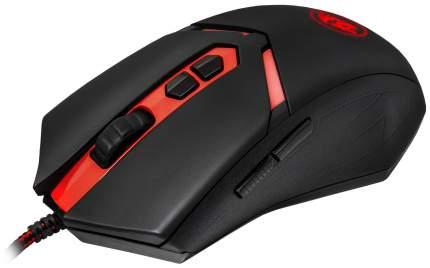 Мышь проводная Defender Redragon Nemeanlion черный+красный USB 70437