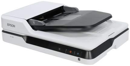 Сканер Epson WorkForce DS-1630 White/Black