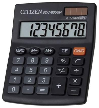 Калькулятор CiTiZEN SDC-805BN Черный