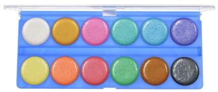 Художественные краски Луч Акварель Перламутровая 12 цветов