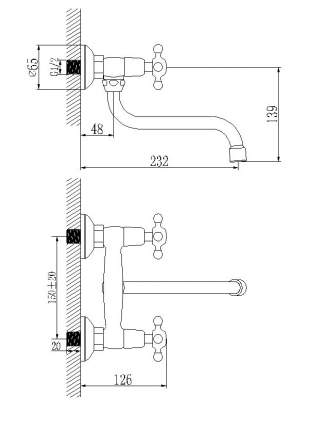 Смеситель для кухонной мойки LEMARK Standard LM2111C хром